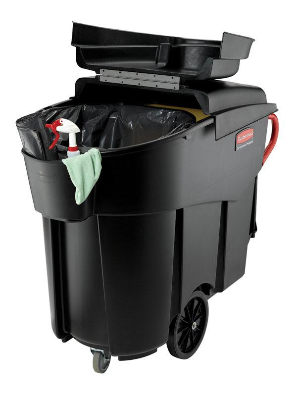 Afvalverzamelaar op wielen